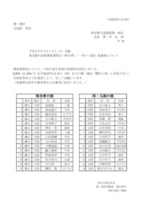*H29.3.19.東京都弓道講習会(称号・四・五段)申込者決定